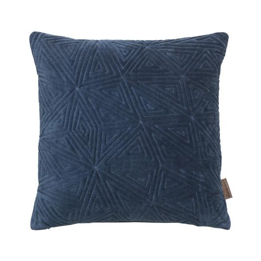 Cozy Living velourpude, Iceage - blå