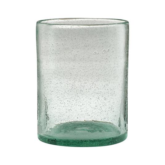 Cozy Cora vase - aqua
