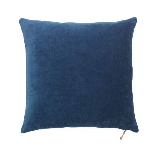 Cozy Living velourpude - Major Blue, 2 stk.