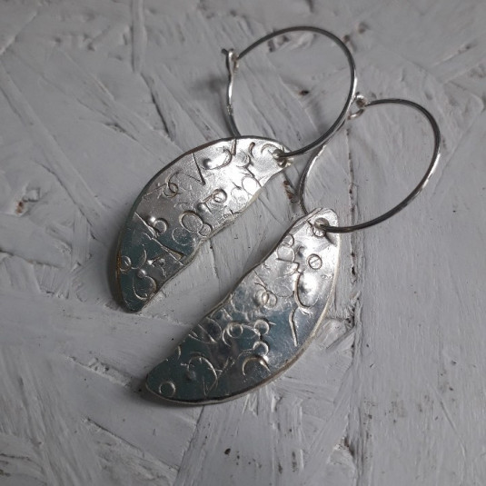 MY'ne ørering - sølv-teske