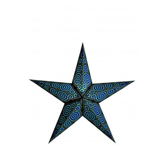 Starlightz stjerne - Marrakesh Black/Turqoise