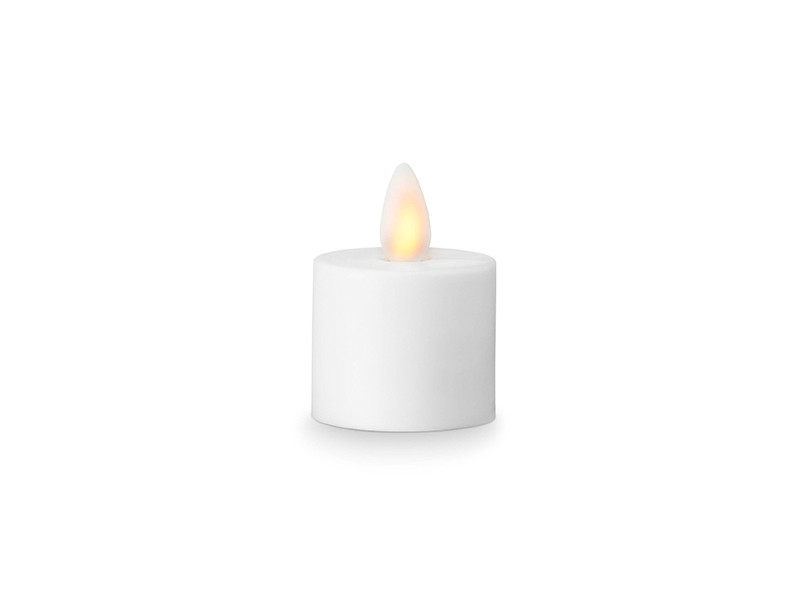 Sompex LED-fyrfadslys med bevægelig flamme hvid - New Nordic Style