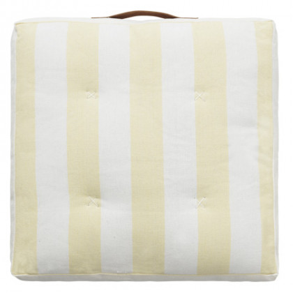 Cozy Living hynde Striped Cotton - gul, 4 stk.