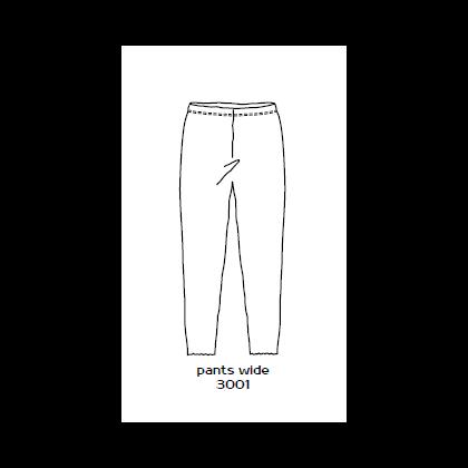 by basics leggings - antracitgrå