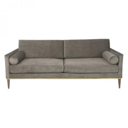 Cozy Living Club Couch - Platinum