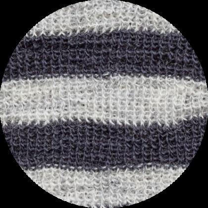 by basics bluse - lysegrå/koksgrå