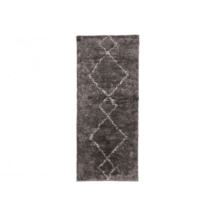 Cozy Living gulvtæppe i silke – Mud 70×180 cm