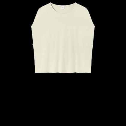 by basics Bamboo top - hvid