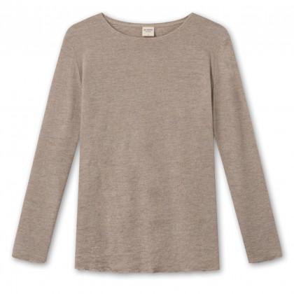 by basics Blusbar bluse - brun