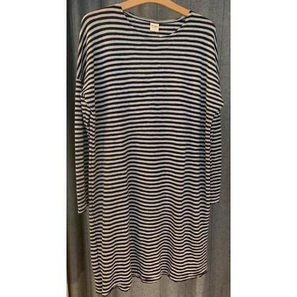 by basics Blusbar kjole - lysegrå/koksgrå