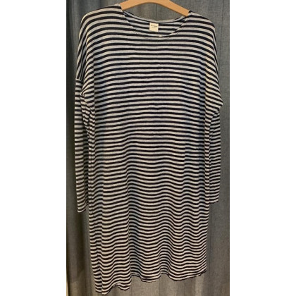 by basics kjole - lysegrå/koksgrå
