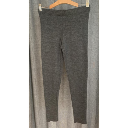 by basics Blusbar leggings - antracitgrå