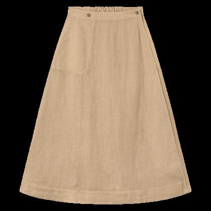 by basics Own slå-om nederdel - sand