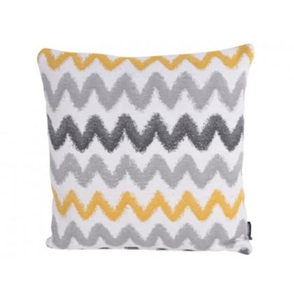 Compliments pudebetræk Cobra Waves gul og grå