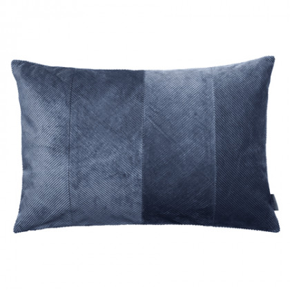 Cozy Living fløjlspude - Royal Blue, 2 stk
