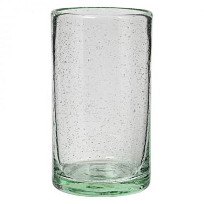 Cozy Cora højt glas - aqua