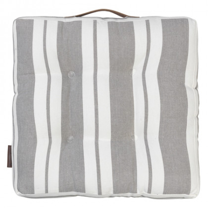 Cozy Living hynde Striped Cotton - mud, 4 stk.