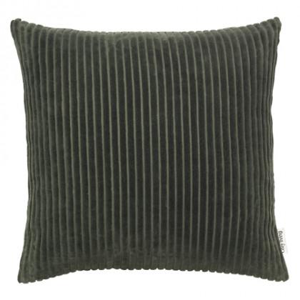 Cozy Living fløjlspude - Army, 2 stk.