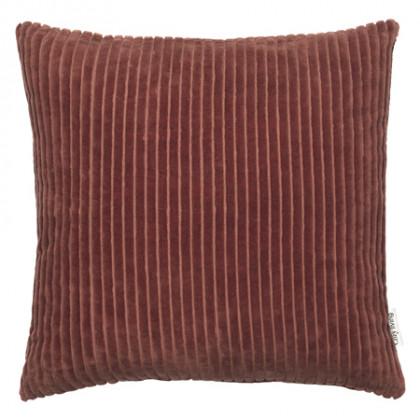 Cozy Living fløjlspude - Rust, 2 stk.