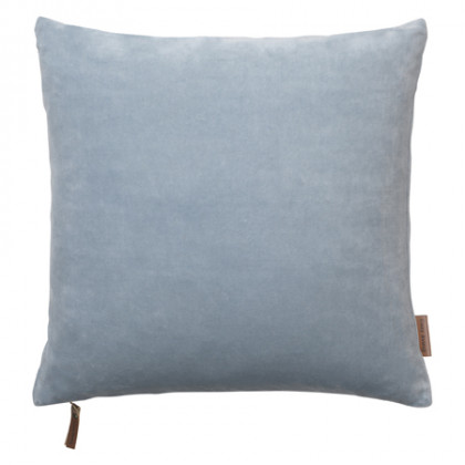 Cozy Living velourpude - Dusty Blue, 2 stk.