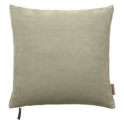 Cozy Living velourpude - Khaki, 2 stk.