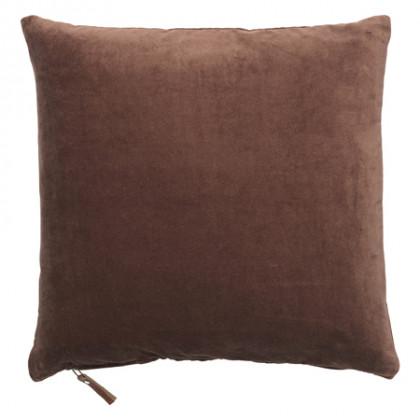 Cozy Living velourpude - Mahogany, 2 stk.