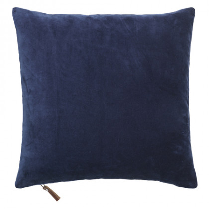 Cozy Living velourpude - Royal Blue, 2 stk.