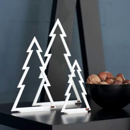 Felius Design Juletræer hvid streg