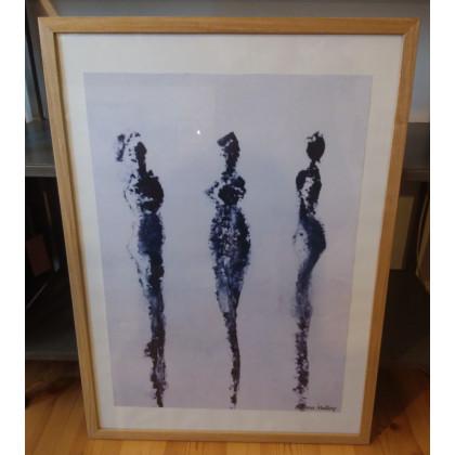 """""""Tre Sorte Damer"""" af Bettina Malling"""