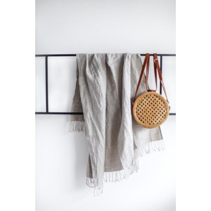 do.design badehåndklæde - Blue striped