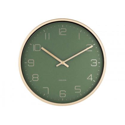 Karlsson Elegance vægur - grøn
