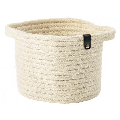 Zone kurv Roll Basket sand - Stor