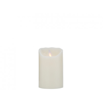 Sompex LED-stearinlys elfenben 12,5 cm