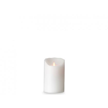 Sompex LED-bloklys hvid frost 12,5 cm
