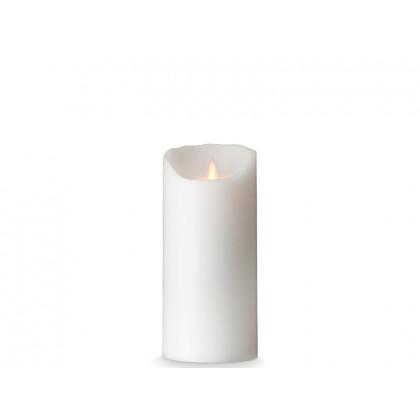 Sompex LED-stearinlys hvid glat 18 cm
