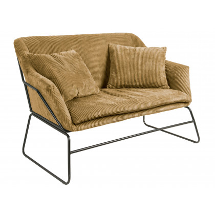 Leitmotiv sofa Glam – brun