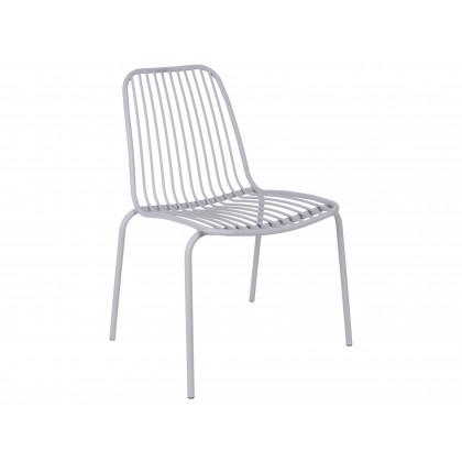 Leitmotiv havestol i stål – grå