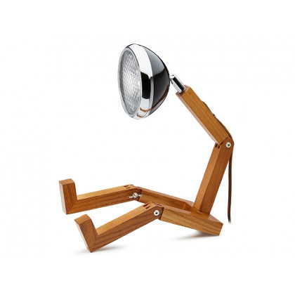 Mr. Wattson LED-lampe Fashion Black