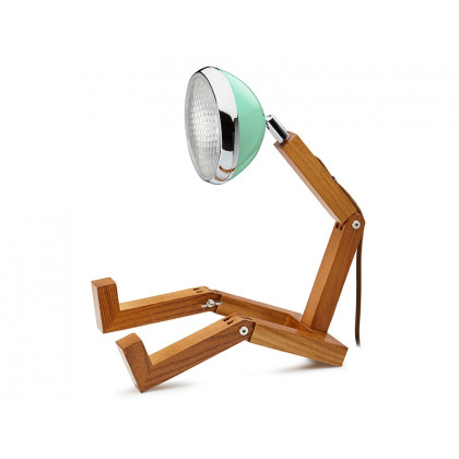 Mr. Wattson LED-lampe Tiffany Green