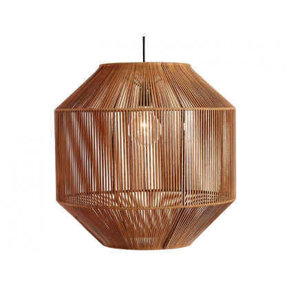 MUUBS loftslampe Nest brun læder