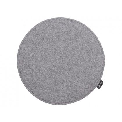 PYTT Living hynde Round Dot mørkegrå uld