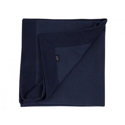 PYTT plaid Cross Weaving blå