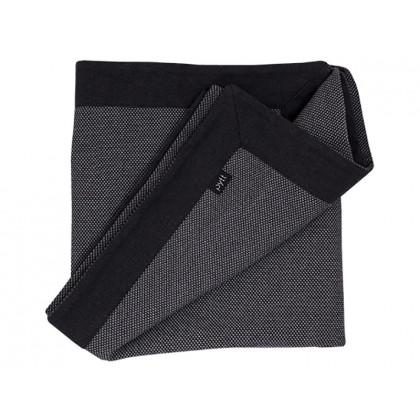 PYTT plaid Cross Weaving grå