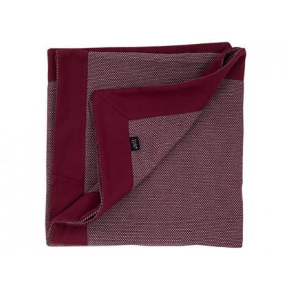 PYTT Living plaid Cross Weaving - rød
