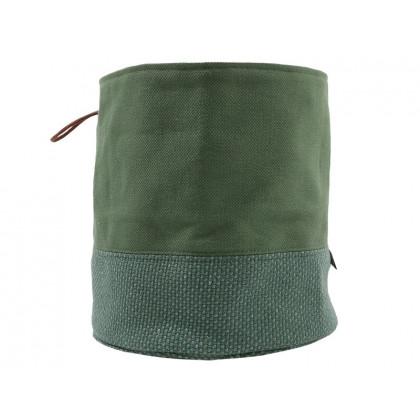 PYTT Living stofkurv Soft Storage L grøn