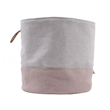 PYTT Living stofkurv Soft Storage L rosa