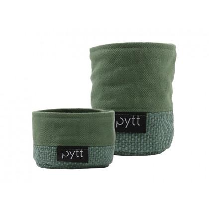 PYTT stofkurve Soft Storage Mini sæt grøn