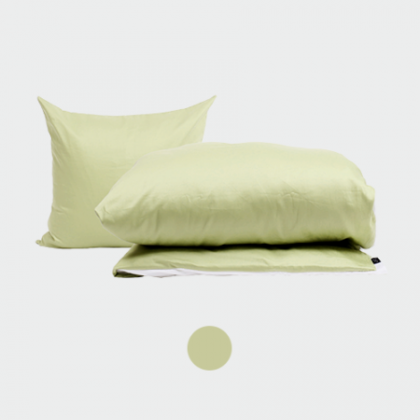 PYTT Living sengetøj Basic Pale Green