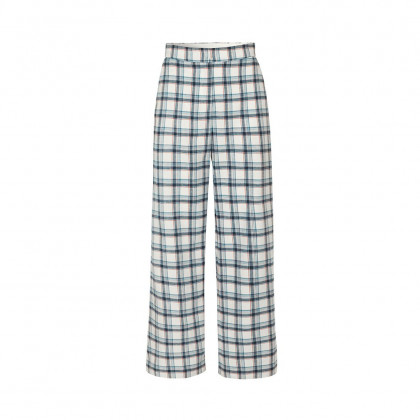 Schulz by Crowd Pinda bukser - White checkered
