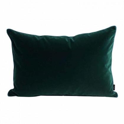 Semibasic Lush Velour pude - mørkegrøn